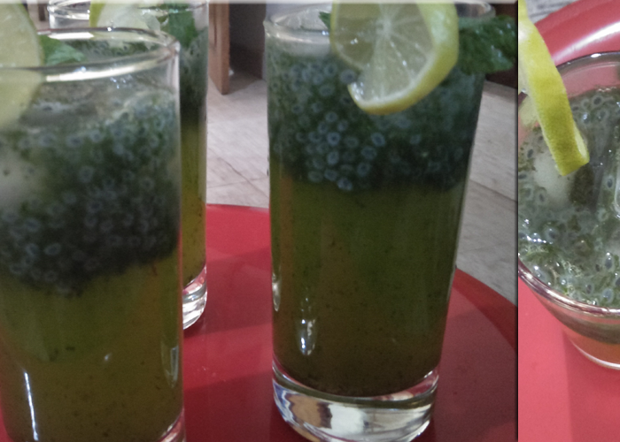 Mint-lime with khuskhus