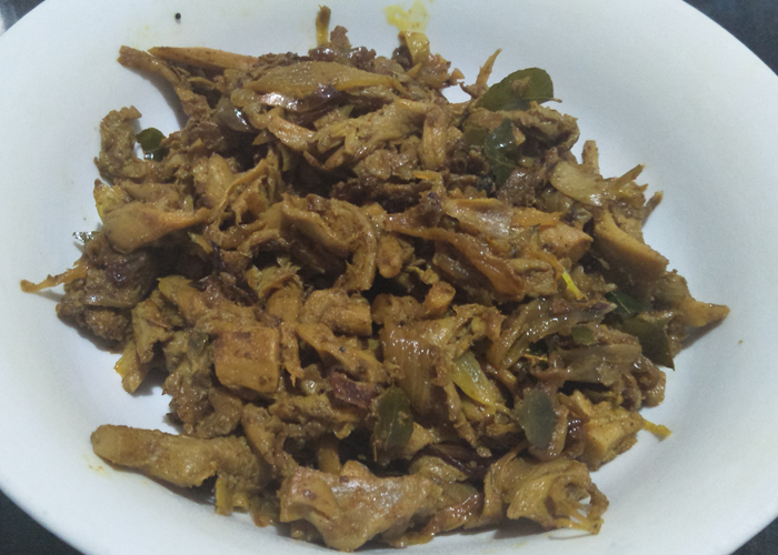 Mushroom Dry Fry - Cooking Revived