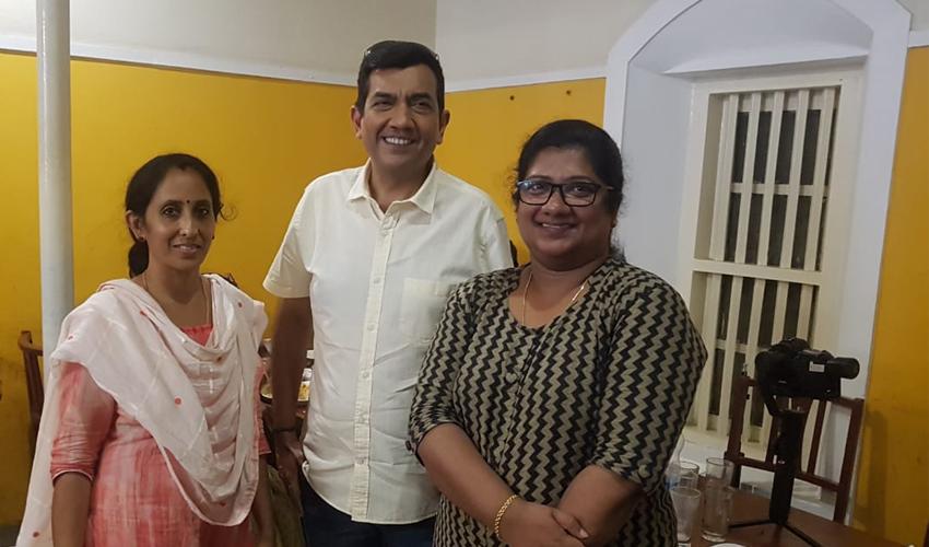 When I met Chef Sanjeev Kapoor