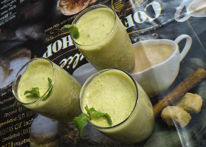 Minty Pineapple Juice - Cooking Revived