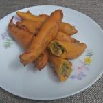 Chicken Stuffed Mulaku Bhaji