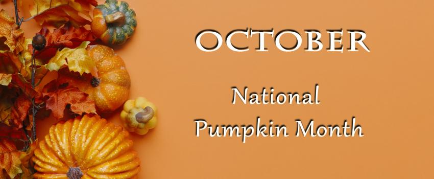 National Pumpkin Month